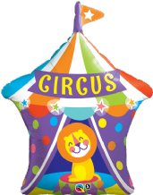 Big Top Circus Lion Large Foil Balloon 1pc
